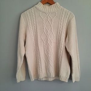 Collectibles by Parkhurst cream knit sweater